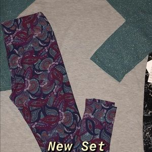 New Lularoe XL Randy & OS Leggings